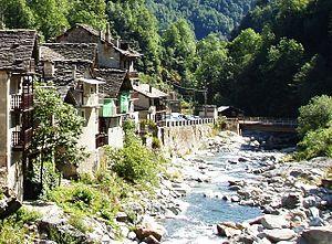 Rassa, Piedmont - Sorba Creek in Rassa