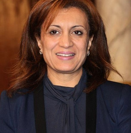 Souad Abderrahim, mayor of Tunis since 2018. SouadAbderrahimANC2011.jpg