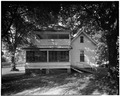 South elevation - O'Shee House, 1606 Fourth Street, Alexandria, Rapides Parish, LA HABS LA,40-ALEX,1-5.tif