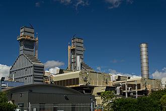 Southdown Power Station - Southdown Power Station's turbine stacks