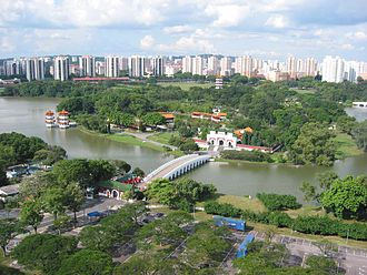 Jurong - Image: Southern to middle part of Jurong Lake, Singapore