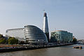 Southwark, More London, City Hall, Shard London Bridge, river Thames.jpg