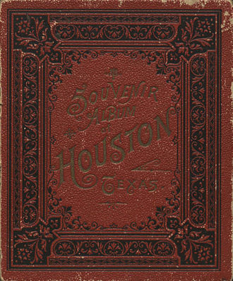 Souvenir - Souvenir Album of Houston, 1891