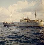 Soviet intelligence gathering trawler Gidrofon, a photo from aboard USS Lipan (1).jpg