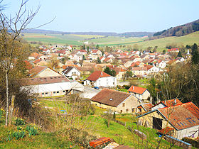 Panorama sur le village.