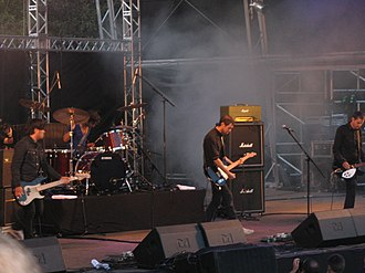 Sparta (band) - Sparta live in 2007