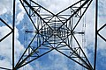 Spiders Web of a Pylon - geograph.org.uk - 1387973.jpg