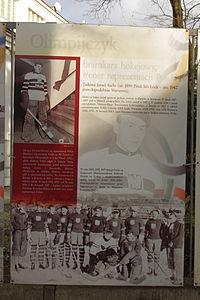 Sport Żydowski w przedwojennej Warszawie (wystawa plenerowa) 43.JPG