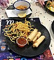Spring rolls at Marcoola Surf Life Saving Club, Marcoola, Queensland.jpg