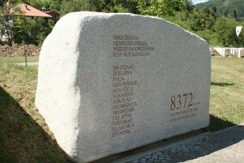 SrebrenicaPotocari Memorial Stone.jpg