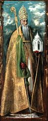 Sant Agustí (Retaule de Santa Bàrbara)