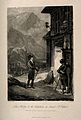 St. Gothard Hospital, St. Gothard, Switzerland; a traveller Wellcome V0014450.jpg