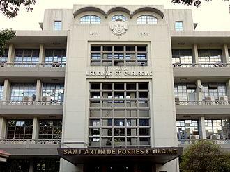 University of Santo Tomas Faculty of Medicine and Surgery - St. Martin de Porres Building