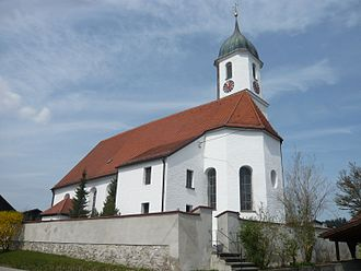 Eisenberg, Bavaria - Saint Maurice Church
