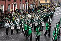 St. Patrick's Day Parade (2013) In Dublin - Brewster High School Marching Bears, New York, USA (8566319238).jpg