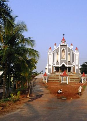 Kushalanagar - St.Sebastian Church on Mysore road