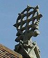 St Catherine, Sacombe, Herts - Cross on roof - geograph.org.uk - 357766.jpg