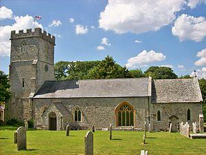 Winfrith Newburgh - Image: St Christopher, Winfrith Newburgh
