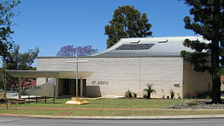St Denis Church, Joondanna Church in Western Australia, Australia
