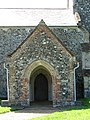 St Edmund's church - Roman bricks in north porch - geograph.org.uk - 1352174.jpg