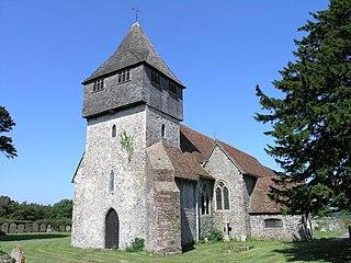 Elmsted Human settlement in England