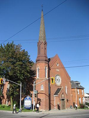 Wilson Street (Hamilton, Ontario) - St. John's Evangelical Lutheran Church