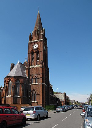 Kelly & Birchall - Image: St Lukes church, Kingston upon Thames south end (geograph 3442575)