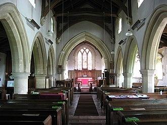 Garsington - Inside St Mary's parish church