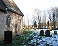 St Mary's church - churchyard - geograph.org.uk - 1634147.jpg