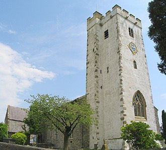Grade I listed buildings in Carmarthenshire - Image: St Peter's Church, Carmarthen geograph.org.uk 22229