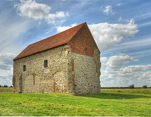 Church architecture of England - St Peter-on-the-Wall (660-662) in Bradwell-on-Sea, Essex, one of the oldest surviving churches in England