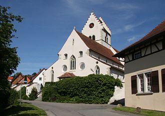 Bermatingen - Saint George's church, Bermatingen