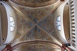 St. Maria Lyskirchen, Cologne - Image: St maria in lyskirchen gewoelbefresken mitte