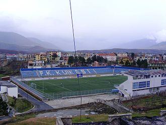 FK Kukësi - The Zeqir Ymeri Stadium in 2015.