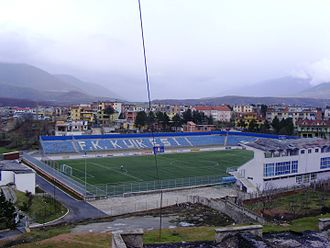 2016–17 Albanian Superliga - Image: Stadiumi i Kf Kuksi