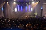 Stadtkulturpreis Hannover 2013 (073) Während die anderen noch den Vorabend genossen, suchten sich erste Gäste bereits die besten Plätze.JPG