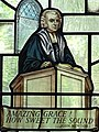 Stained-Glass Image of John Newton - Amazing Grace Writer - St. Peter and Paul Church - Olney - Buckinghamshire - England - 02 (27656254594).jpg