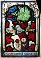 Stained glass panel, Switzerland, c.1500-1525 with later restoration and additions - Waddesdon Manor - Buckinghamshire, England - DSC07805.jpg