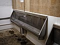 Stainless steel urinal at Epping, Essex, England 02.jpg