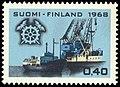Stamp 1968- Finnish trade chamber 50 years.jpg