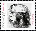 Stamp Germany 1996 Briefmarke Europa Käthe Kollwitz.jpg