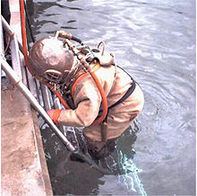 Surface-supplied diving - Wikipedia