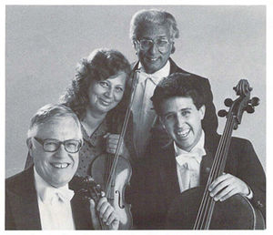 Andor Toth - The original Stanford String Quartet, 1984: Andor Toth, violin; Zoya Leybin, violin; Bernard Zaslav, viola; Stephen Harrison, cello
