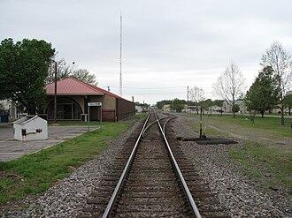 Sallisaw, Oklahoma - Stanley Tubbs Memorial Library (Former Missouri Pacific Railroad Depot)