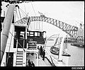 Starboard view of SS ORUNGAL with Sydney Harbour Bridge in background, c 1930 (8137047374).jpg