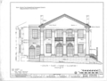 State Bank of Alabama, Decatur Branch, Bank Street and Wilson Avenue, Decatur, Morgan County, AL HABS ALA,52-DECA,1- (sheet 3 of 8).png