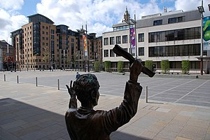 Belfast quarters - Custom House Square is a major cultural feature of Cathedral Quarter