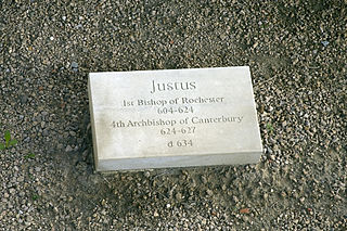 Justus 7th-century missionary, Archbishop of Canterbury, and saint