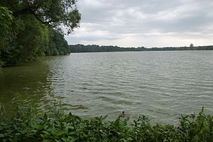 Glauchau reservoir, north bank, looking south