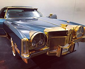 Isaac Hayes - Hayes' Cadillac at the Stax Museum of American Soul Music in Memphis, Tennessee